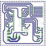 Widok PCB do zgrzewarki