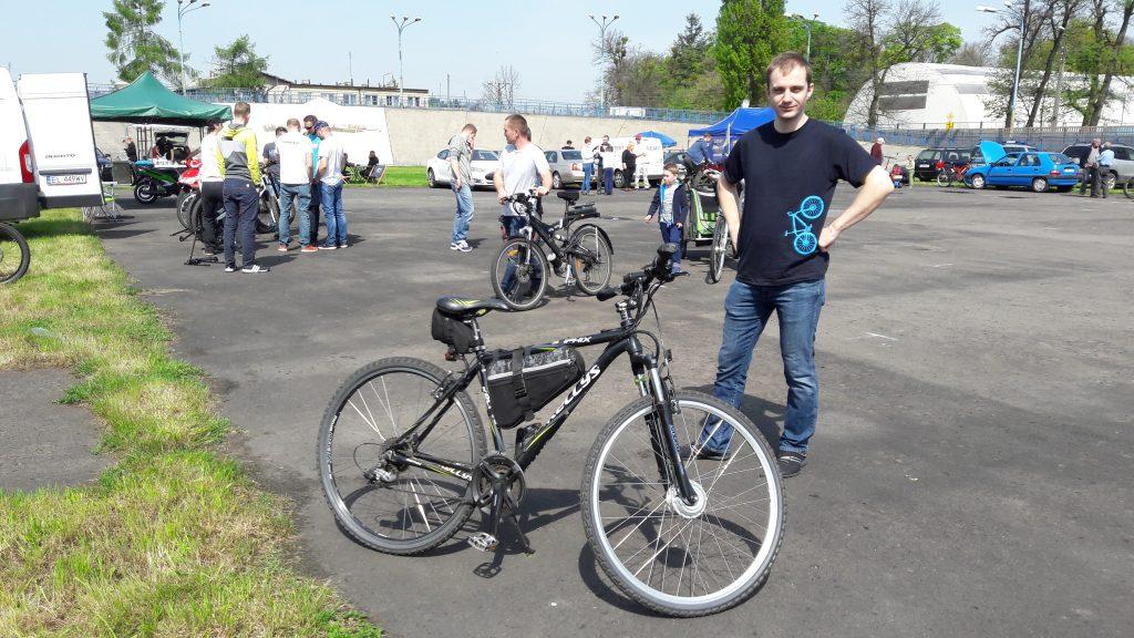 Zlot rowerów elektrycznych w Żyrardowie 2017