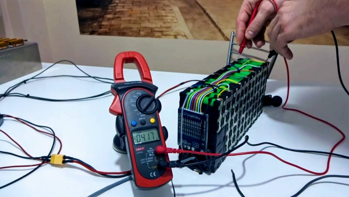 Li-ion battery – testing