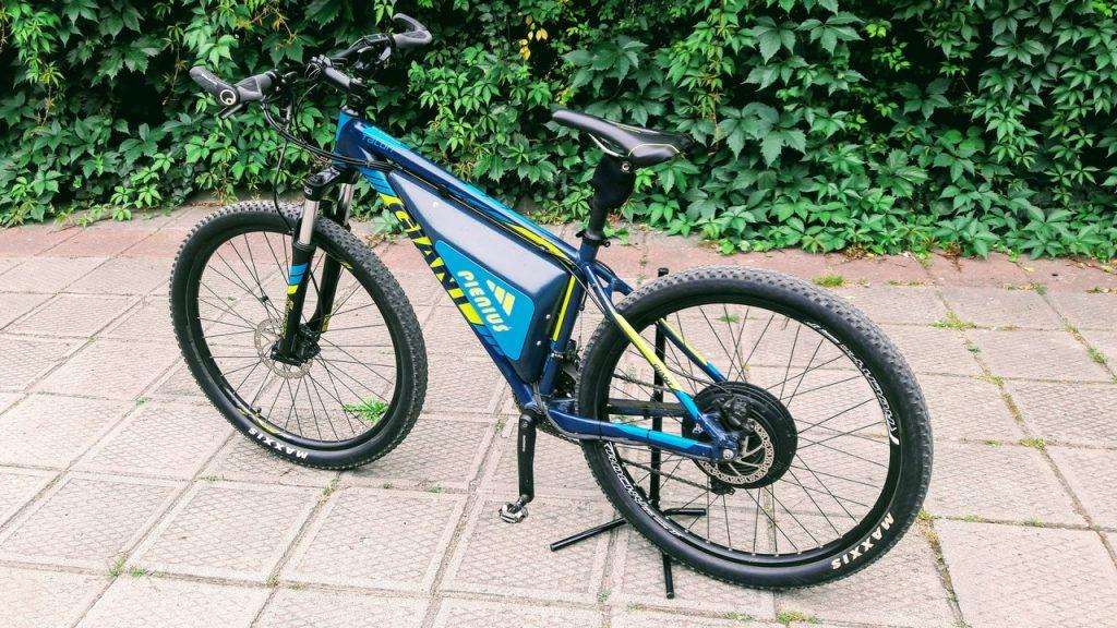 """e-bike """"Pieniuś"""", z silnikiem BionX 1 generacji (hub)"""