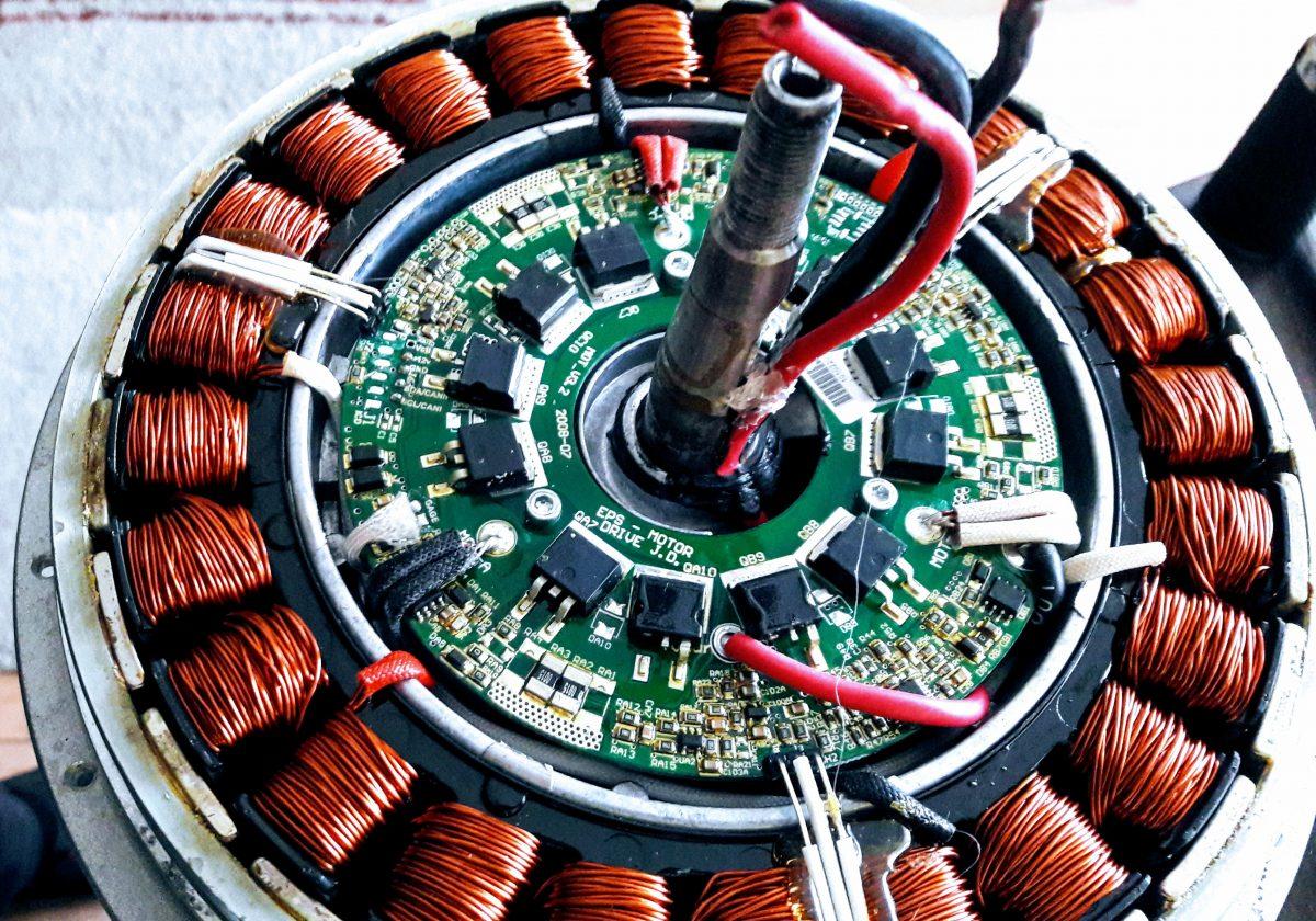 Bionx motor – modification