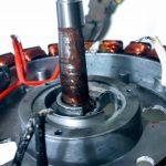 Opened BionX motor
