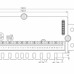 MPeV5 main module - dimensions