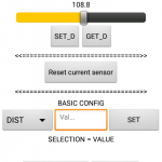 Screen 2 for BT application / MPe computer