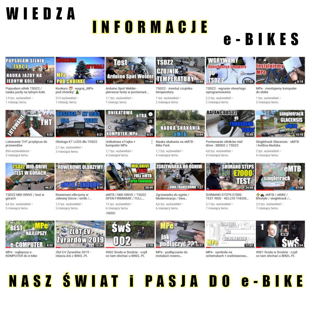 Bikel.pl na youtube