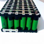 Spot welding of the battery pack / cells 18650V3 2150mAh