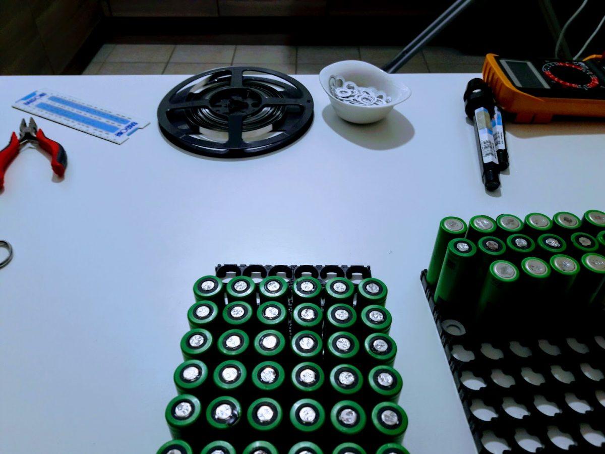 Li-ion battery – assembly process