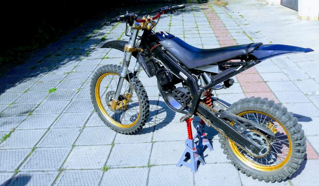 Electric Derbi Senda with MPe computer