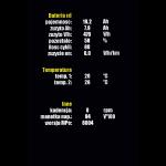 Wyświetlacz MaxiColor 850C - ekran statystyk 2