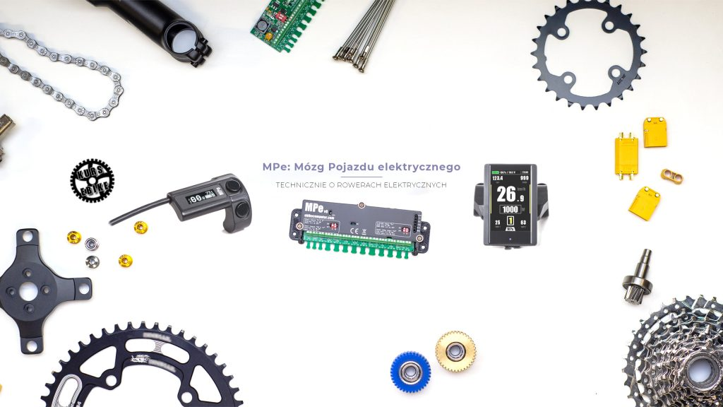 Komputer MPe do roweru elektrycznego