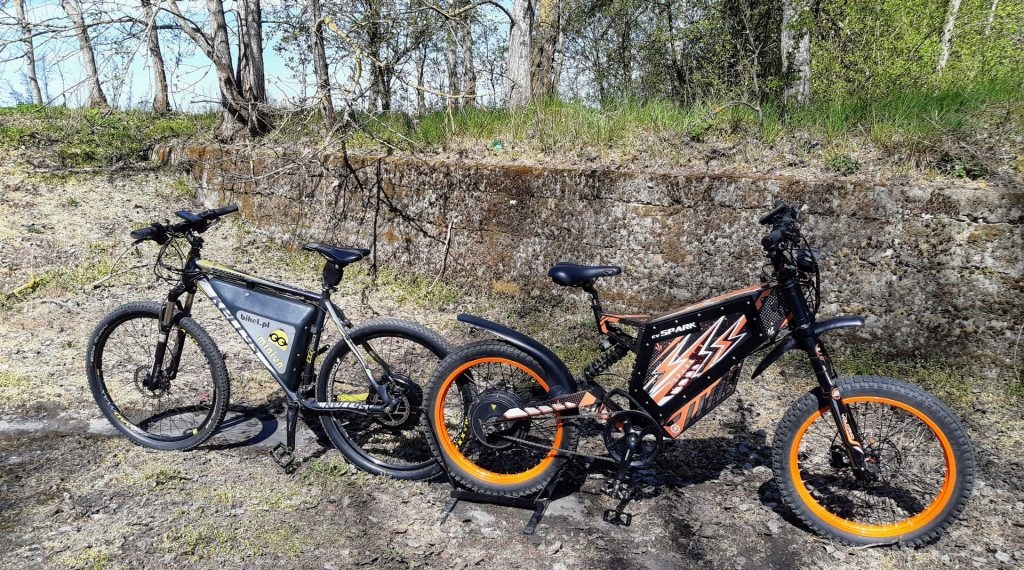 e-bike Minion + e-bike Spark