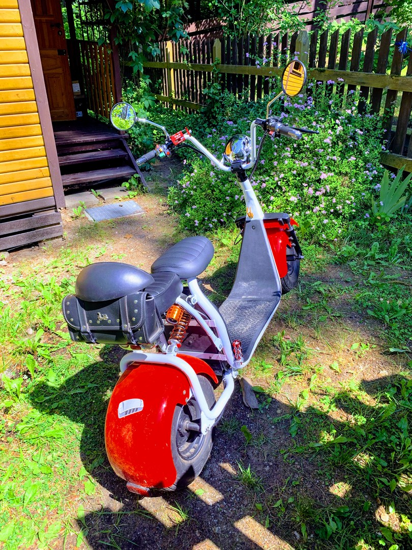 Electric scooter with MPe computer