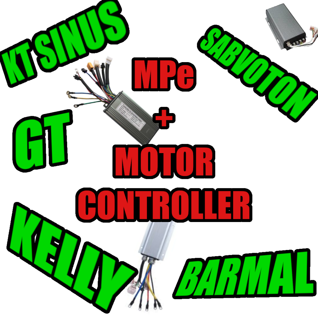 MPe+ motor controller models