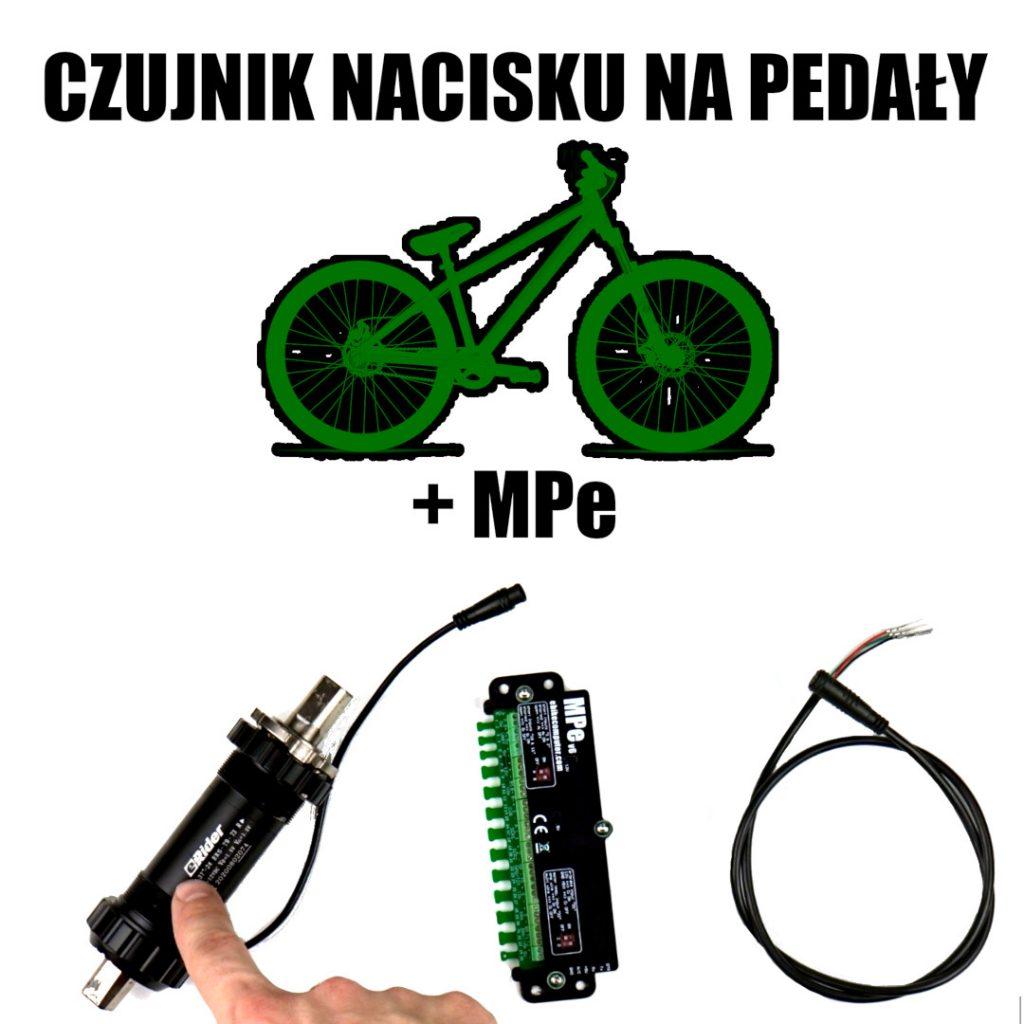Czujnik nacisku na pedały do roweru elektrycznego + komputer MPe