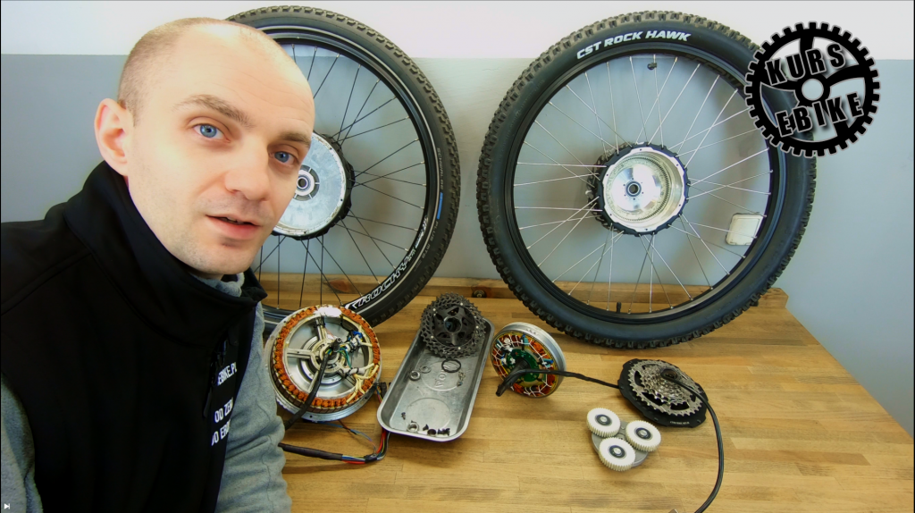 Mark from the Bikel.pl company / eBIKE COURSE - lesson 8 - about HUB motor