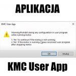 """Aplikacja """"KMC user app"""""""