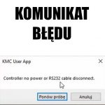 """Error """"Controller no power or R232 cable dosconnect"""""""