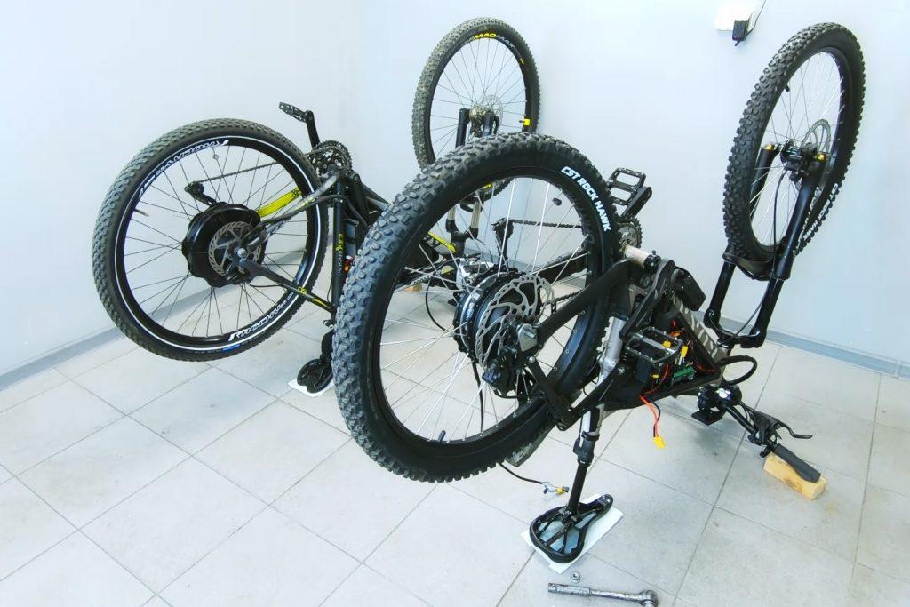 Silniki w tylnym kole - typu HUB