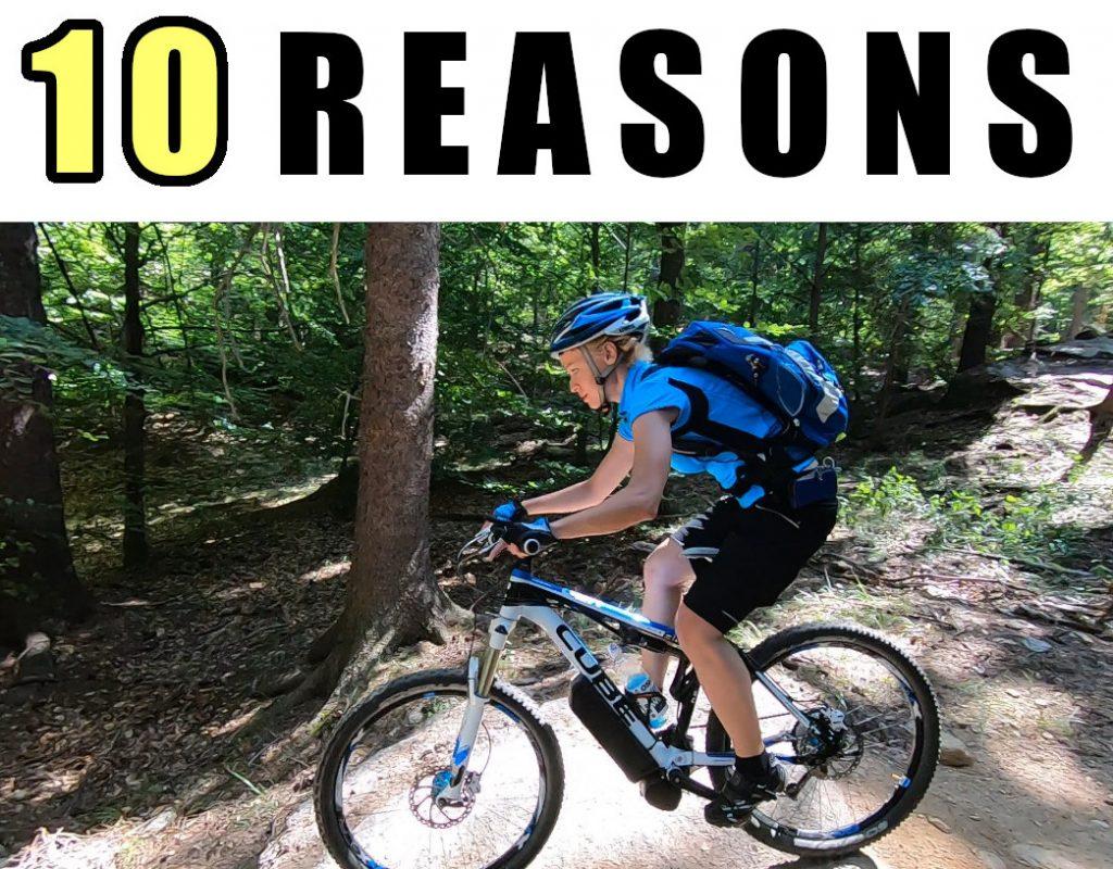 Why an electric bike - 10 reasons