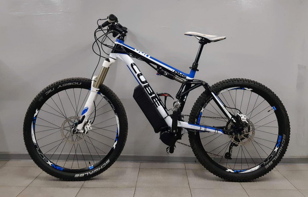 eMTB - mid-drive TSDZ2 (light bike 20,4 kg)