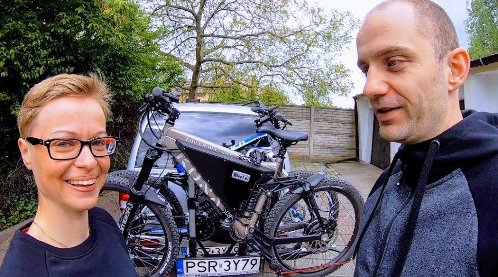Solidny bagażnik do rowerów (Grand Vitara) - własnego wykonania i produkcji