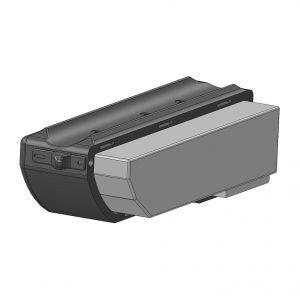 Wymienna bateria - projekt 3D